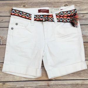 NWT Arizona Denim Shorts